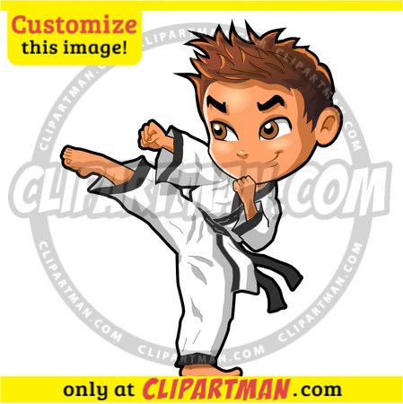 Martial Arts clipart cartoon Cartoon &  Clipartman Arts