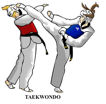 Korean clipart taekwondo Difference form Japanese Kickboxing vs