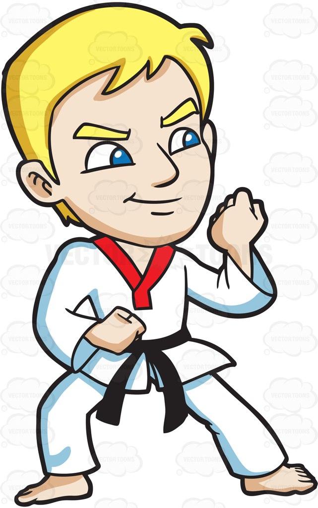 Fist clipart taekwondo Martial Cartoon Clipart For A