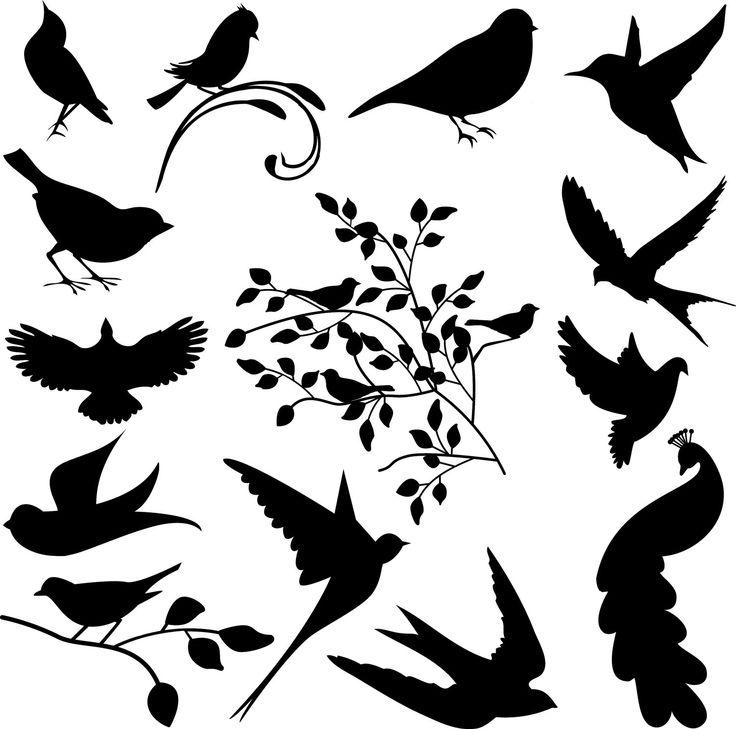 Bird clipart template Bird Clip Art 249 Bird