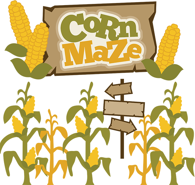 Maze clipart drawing #15
