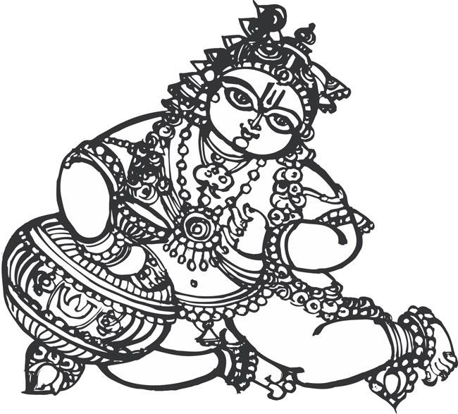 Krishna clipart Krishna 31KB download Lord 348x450