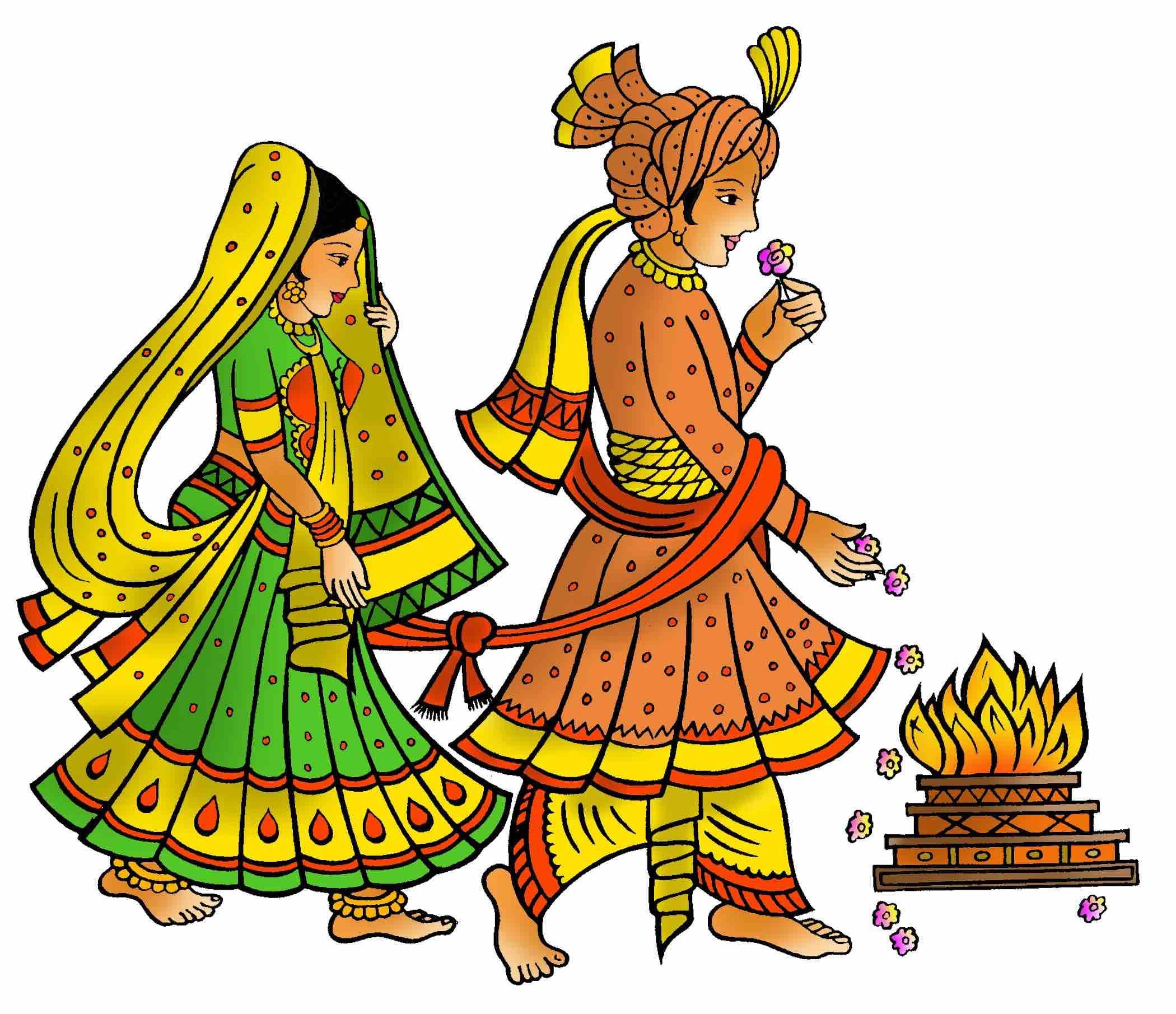 Wedding clipart rajasthani Ceremony Ceremony Wedding 2018 Vivah