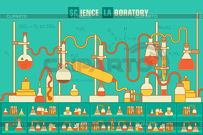 Laboratory clipart background Alexei Vektor © Photos in