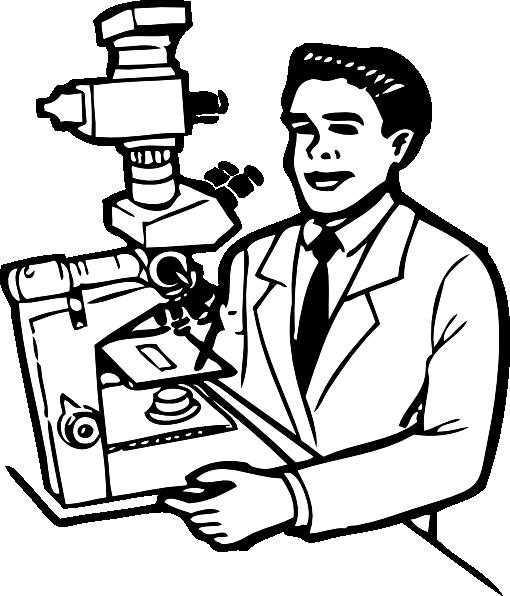 Scientist clipart small #7