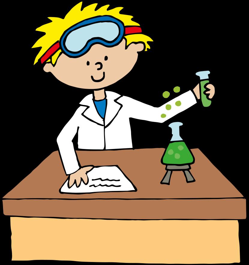 Scientist clipart school science #1