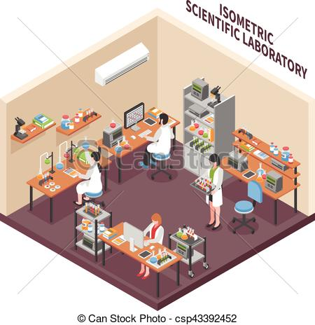 Room clipart science laboratory #11