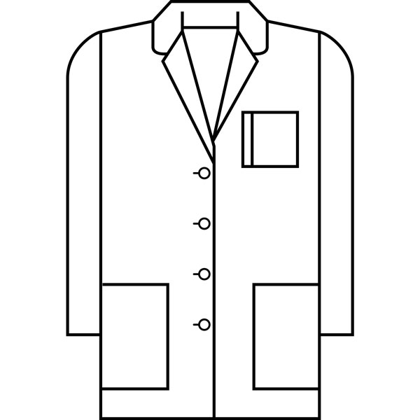 Coat clipart doctor coat On Free Clip Art