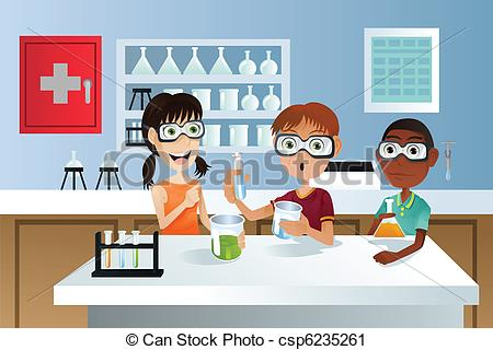 Room clipart science laboratory #6
