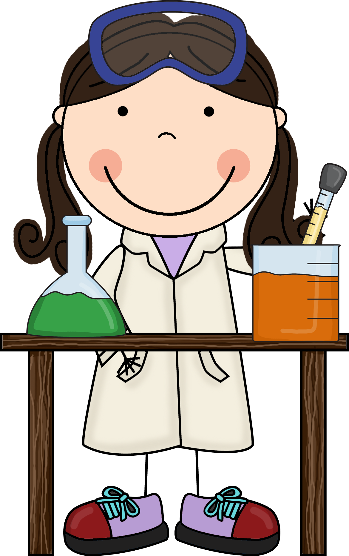 Scientist clipart kindergarten science #5
