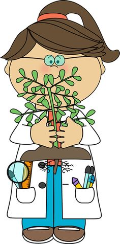 Nature clipart scientist #3