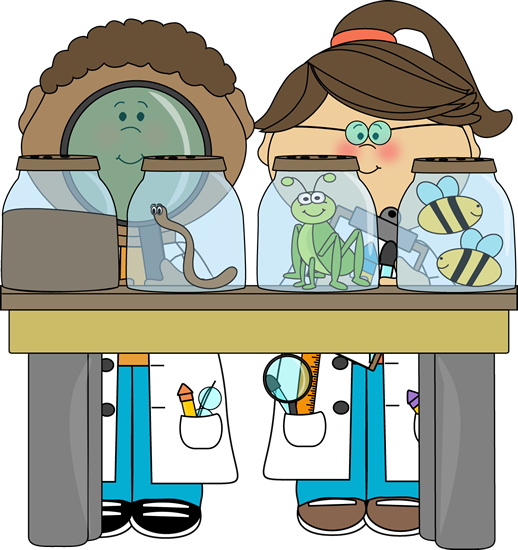 Bug clipart mycutegraphics Science Kids Bugs Examining Science