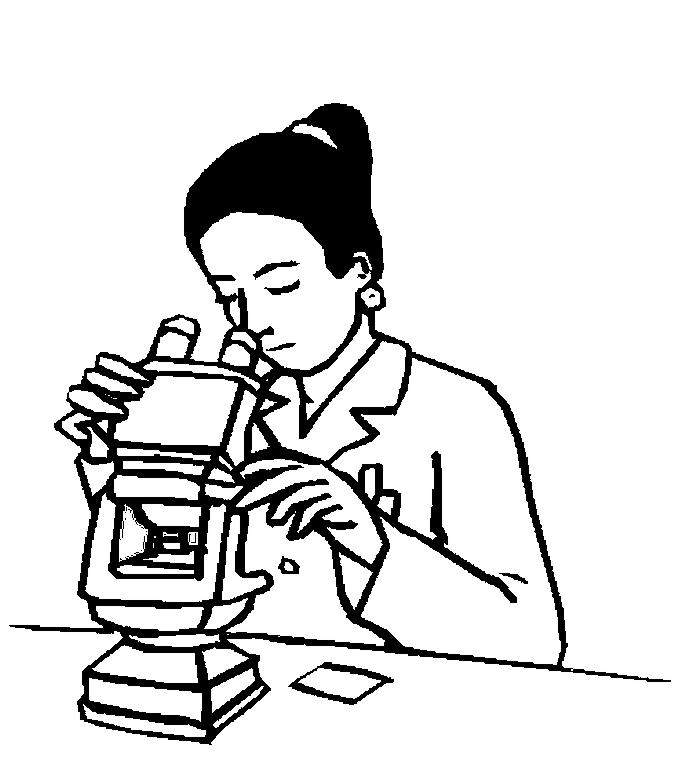 Laboratory clipart lab assistant Lab technician pages Clipart lab