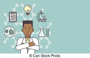 Laboratory clipart lab assistant Of assistant  Clip assistant