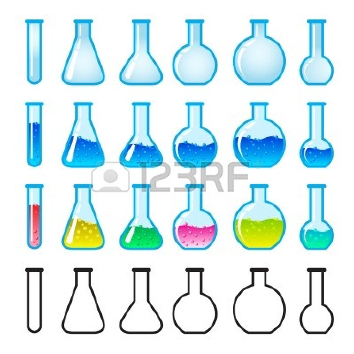 Laboratory clipart lab glassware Free Lab Images Chemistry Panda