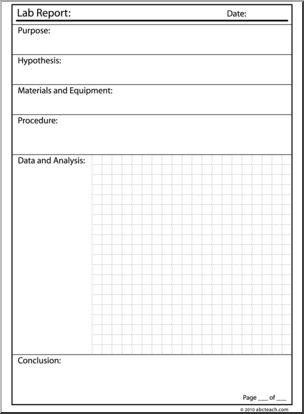 Laboratory clipart lab report Clip com 1 I Lab