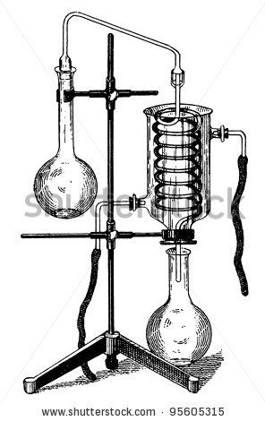 Alchemy clipart chimie 46 illustration stock equipment :