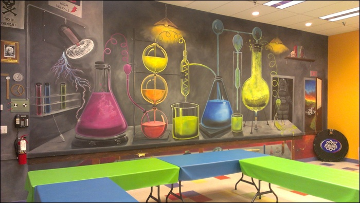 Room clipart science laboratory #10