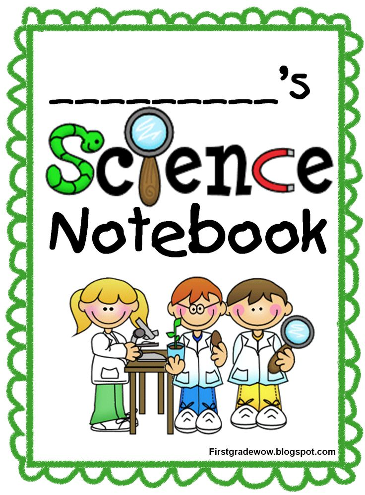 Notebook clipart science notebook Best last 8 safety year