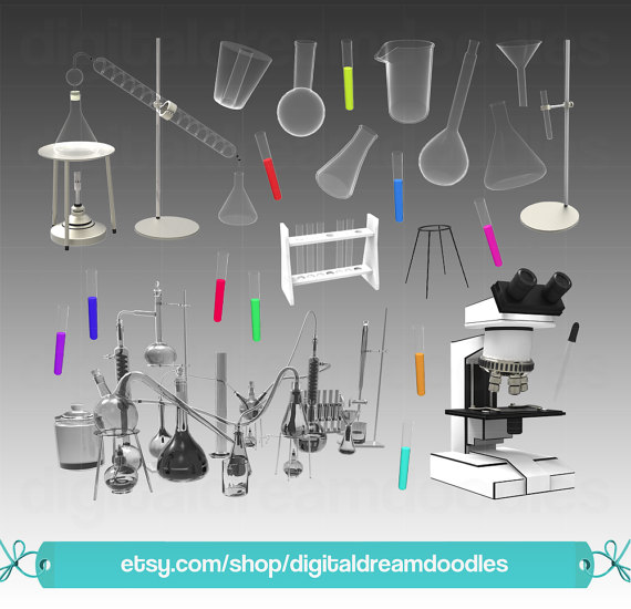 Laboratory clipart science beaker Science Digital from Download Clipart
