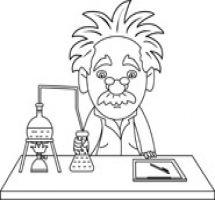 Laboratory clipart science class Class Science Science Desk White