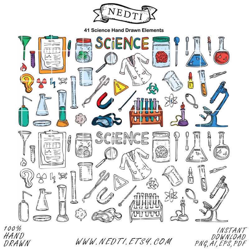Laboratory clipart science classroom STEM Lab Student Doodle Nedti