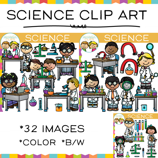 Laboratory clipart science experiment Experiment art Clips Whimsy Science