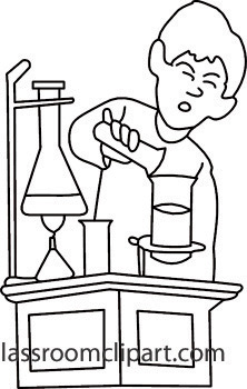 Scientist clipart black and white Science%20clipart%20black%20and%20white White Free Clipart Panda