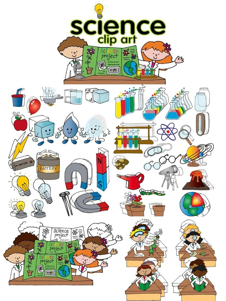 Crystal clipart science Cliparts set #4 in a