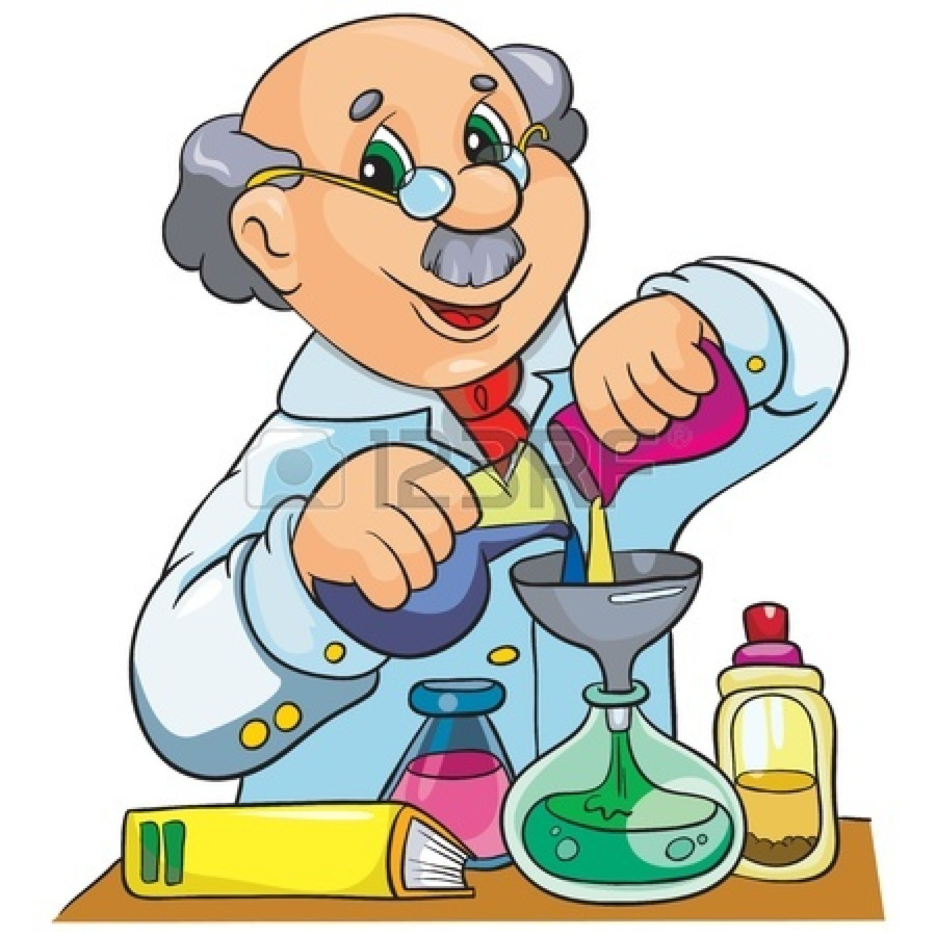 Science clipart science cartoon #2