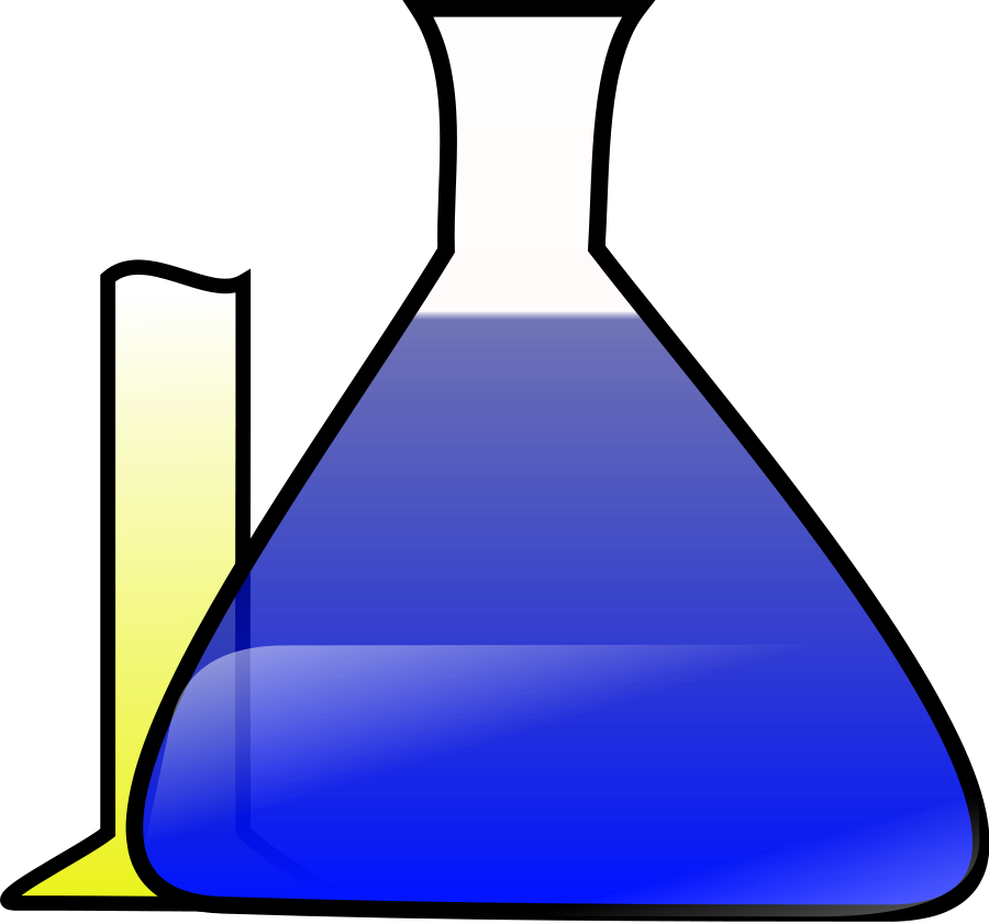 Science clipart purple #8