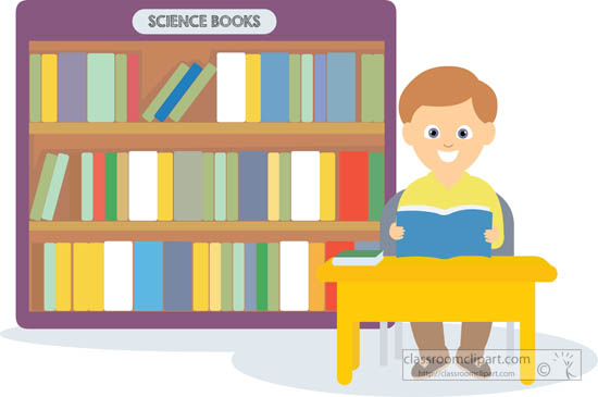 Library clipart boy Lab Pictures Results science sitting
