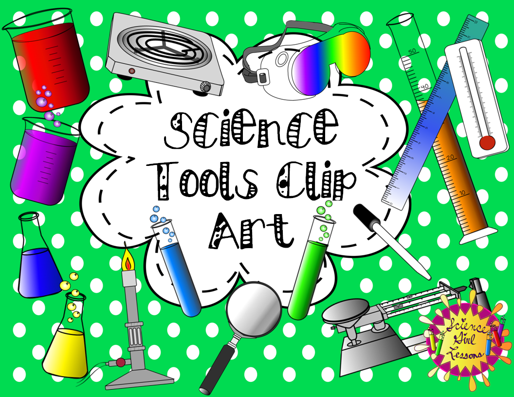 Laboratory clipart science tool Art Pack} Tools Science Pack}