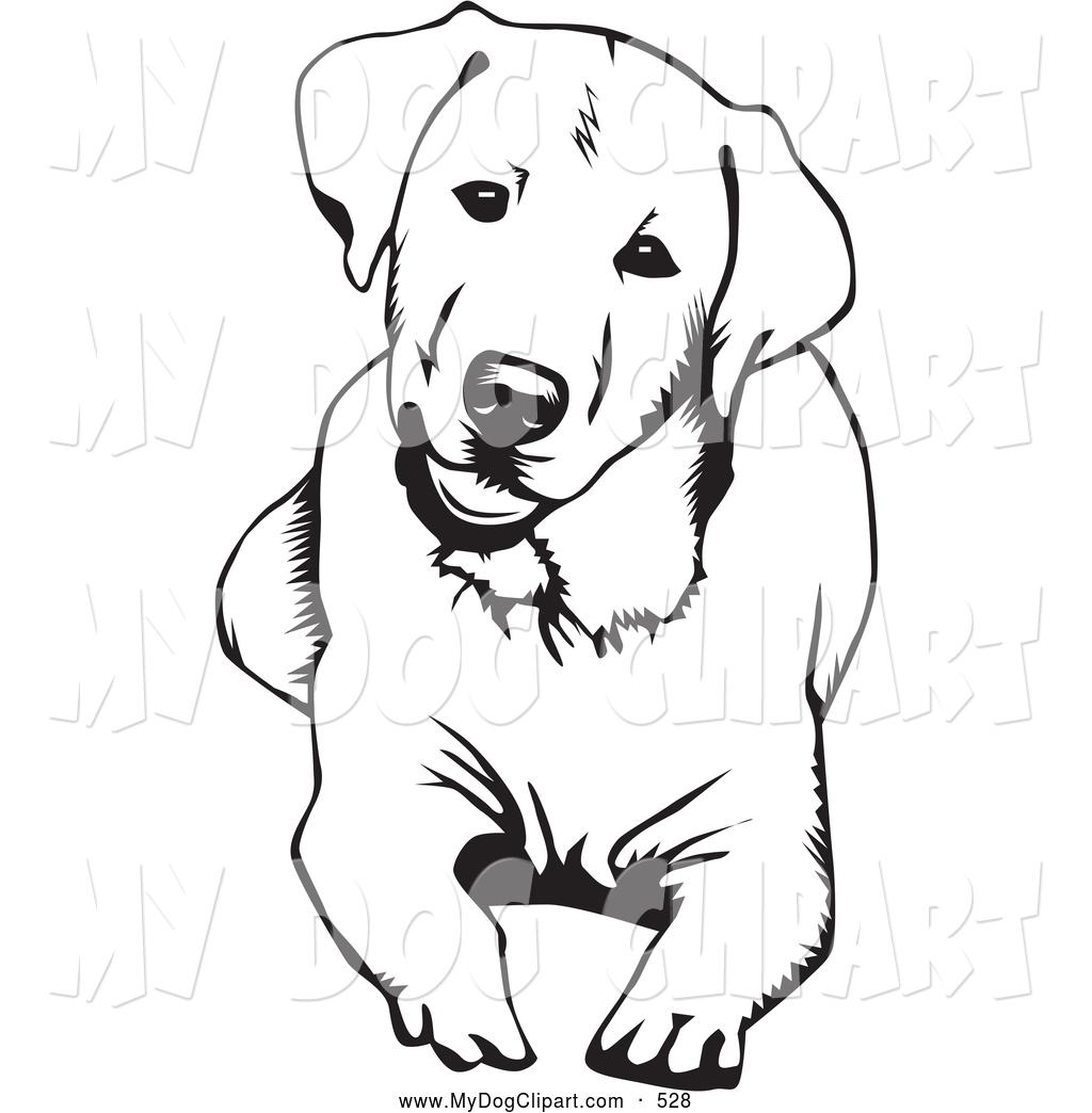 Labrador clipart Clipart A Clip Art Of