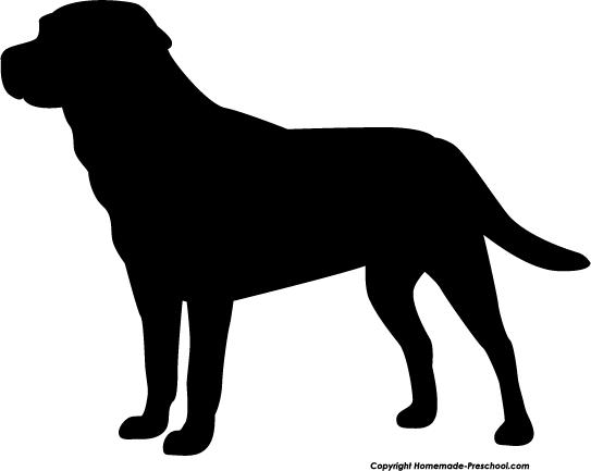 Labrador clipart On Labrador Lab Silhouette Clipart