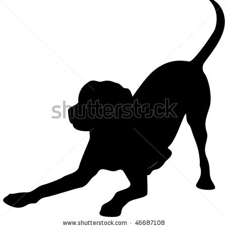 Labrador Retriever clipart Projects SilhouetteAnimalpict and this projects