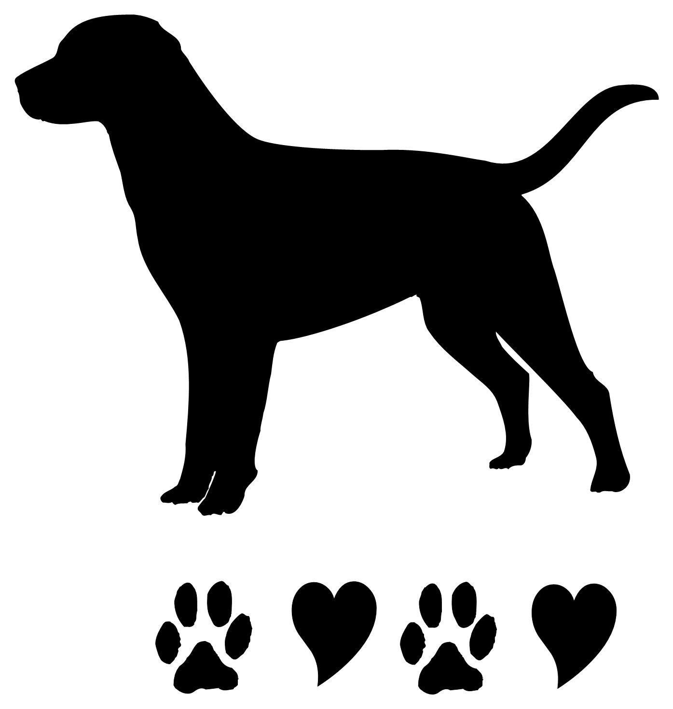 Labrador clipart Pictures Black Labrador Silhouette collection
