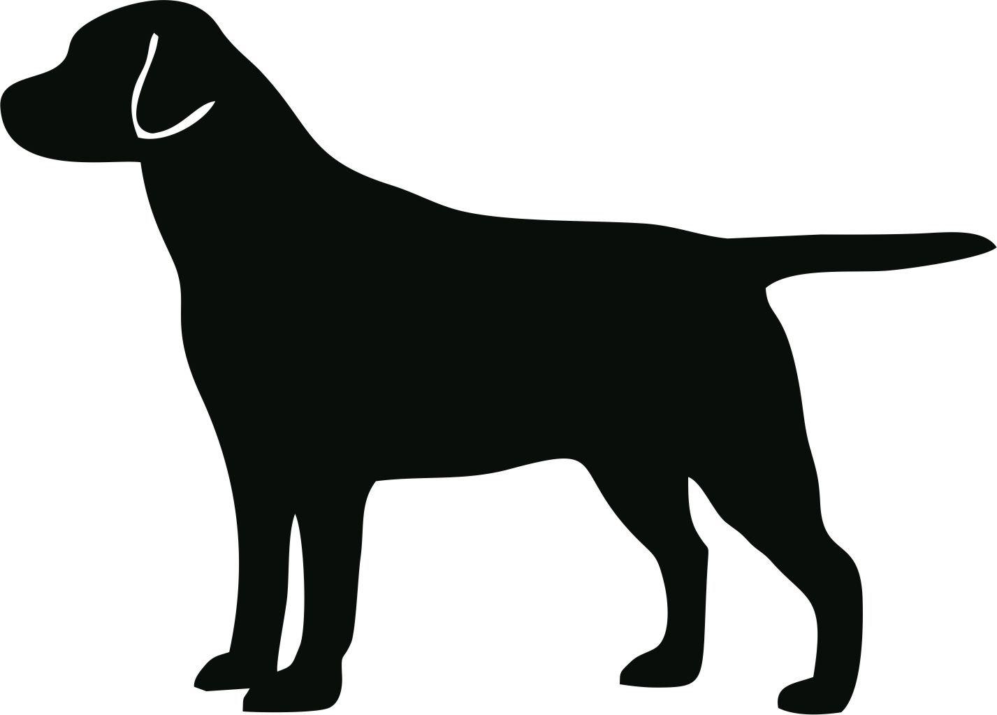 Labrador Retriever clipart Clip Dog decal 87
