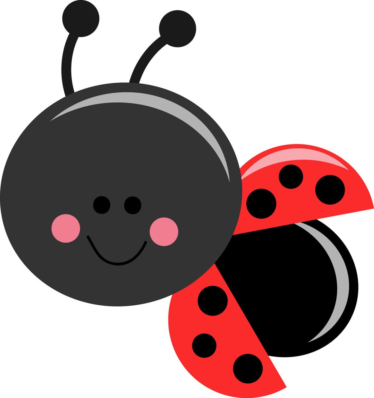 Bud clipart lady Cartoon art clip bug vector