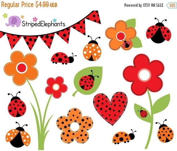 Lady Beetle clipart bettle Bug  Etsy OFF Bug