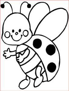 Lady Beetle clipart black and white Pictures maternelle coloriage animaux black