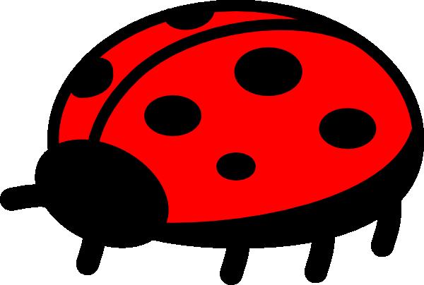 Simple clipart ladybug #12