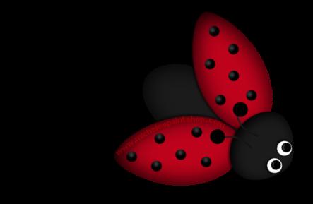 Simple clipart ladybug #8