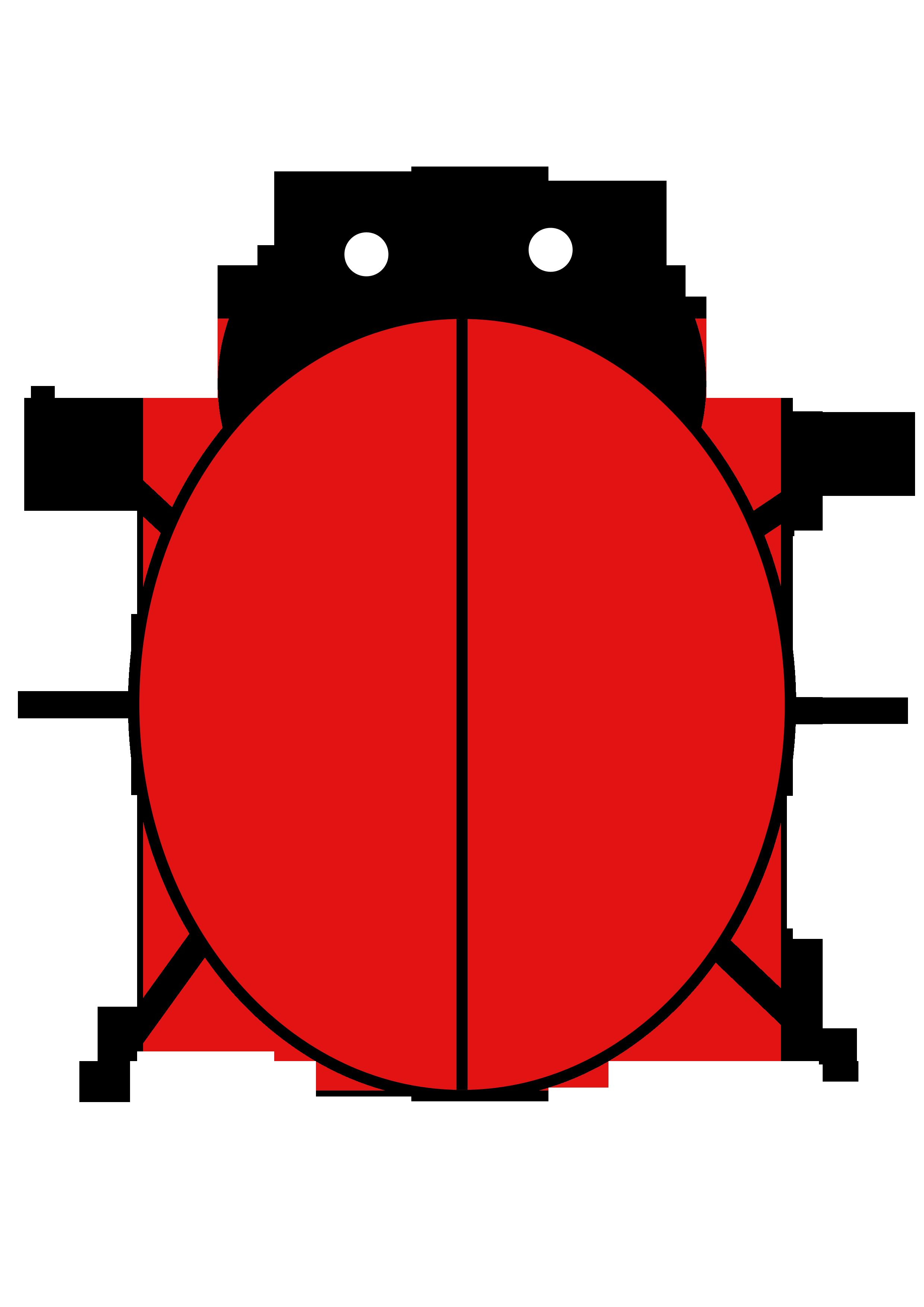 Number clipart ladybug #15