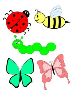 Lady Beetle clipart cute butterfly Used elements This bundle be