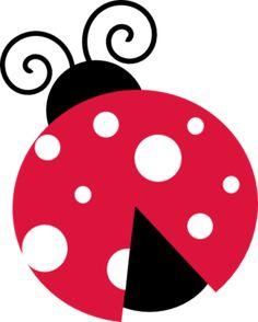Lady Beetle clipart cute button Dots Бабочки Pinterest Pink Art