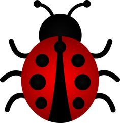 Lady Beetle clipart cute button And Art Cute Clip Red