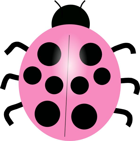 Lady Beetle clipart cute button On Ladybug 12 vector royalty