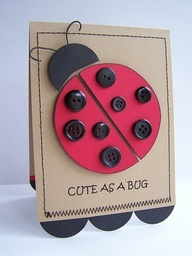 Lady Beetle clipart cute button About Laughter ladybug Pinterest best