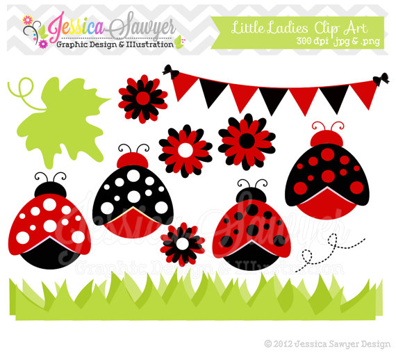 Bud clipart lady Commercial INSTANT Etsy on and